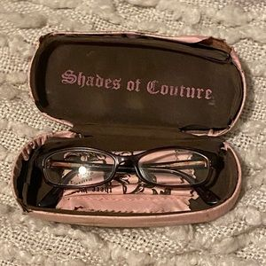Juicy Couture Accessories - Juicy Couture Blair Glasses